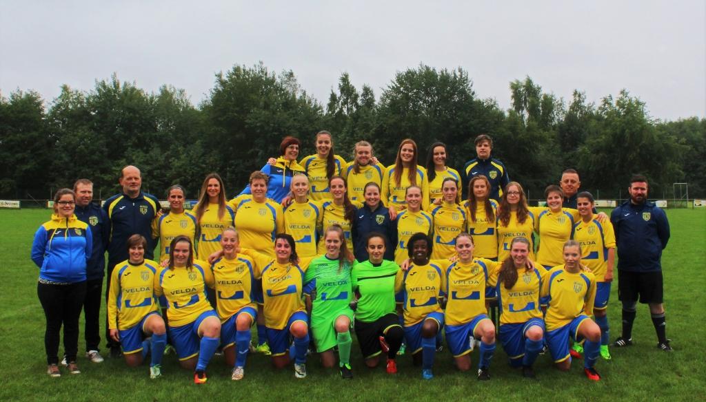 K. Bokrijk Sport_ploegfoto 2017-2018_dames_1e & 3e Provinciale