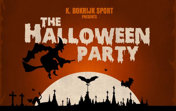 31 Oktober Halloween Feest.K Bokrijk Sport Vrijdag 31 Oktober