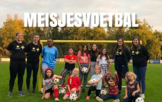 Meisjesvoetbal vanaf 4 jaar
