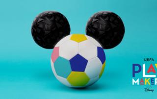UEFA Playmaker Disney Project voor meisjes van 5 tot 8 jaar